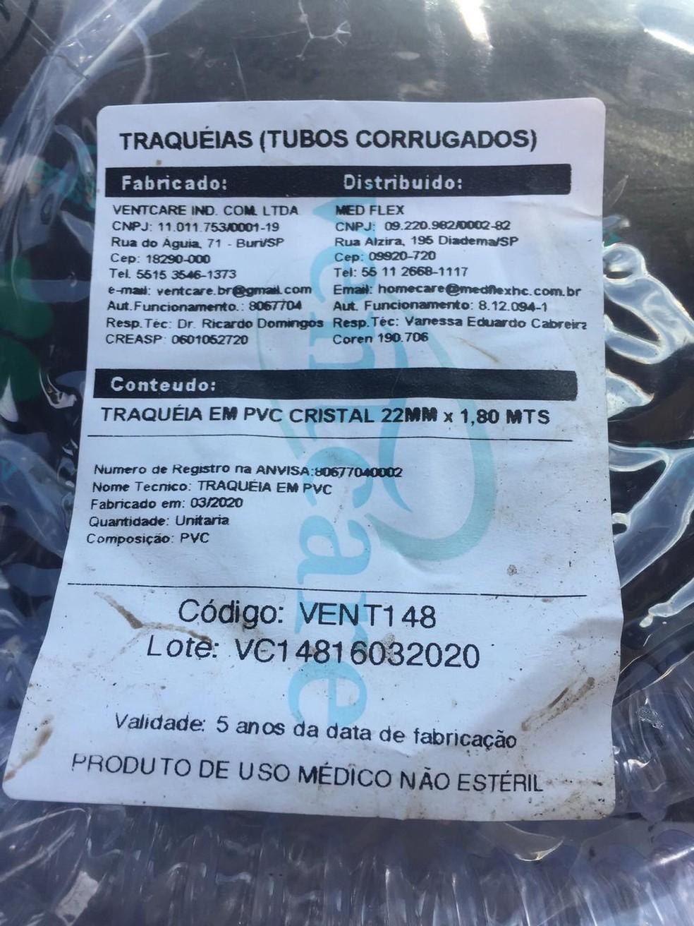 Polícia investiga caso de lixo hospitalar supostamente encontrado a céu aberto em Itatinga (SP) neste sábado (20) — Foto: Arquivo pessoal