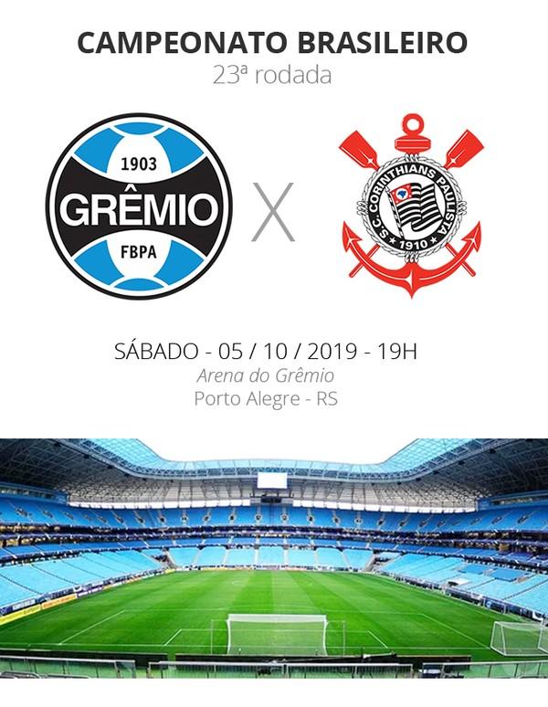 Gremio X Corinthians Tudo O Que Voce Precisa Saber Sobre O Jogo Da Rodada 23 Brasileirao Serie A Ge