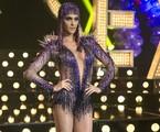 Fernanda Lima apareceu com uma roupa decotada no último episódio de 'Amor & sexo', que falou sobre a diversidade sexual: 'O figurino é um dos protagonistas deste programa', observa a apresentadora | Isabella Pinheiro / Gshow