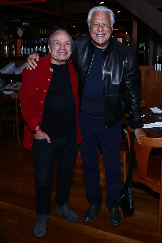Stênio Garcia e Antônio Fagundes (Foto: Roberto Filho/Brazil News)