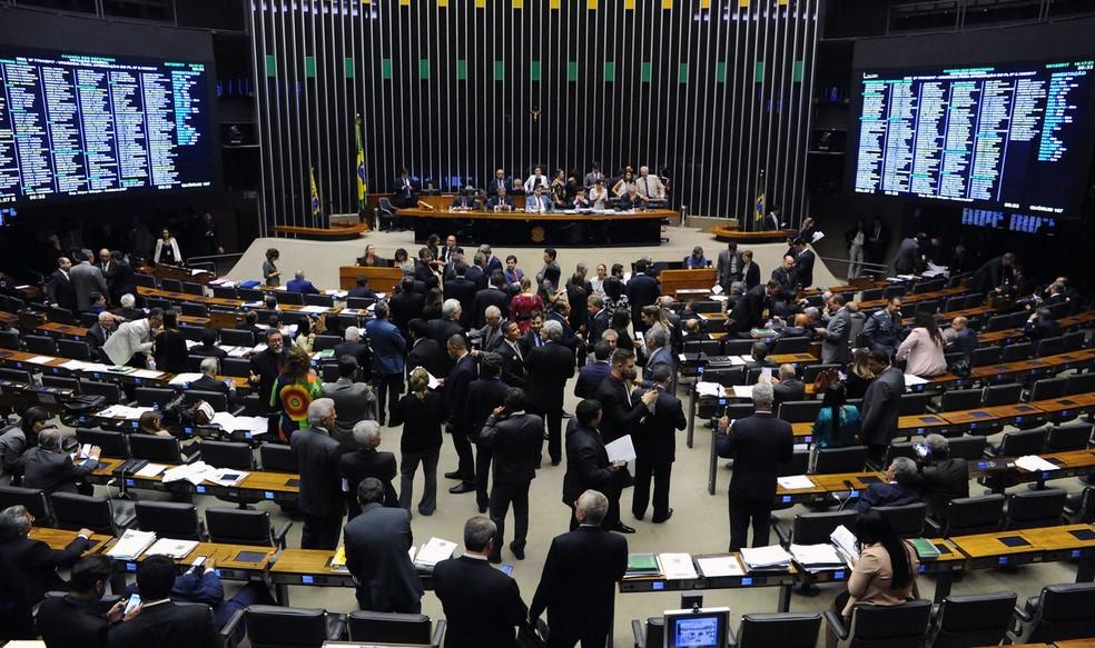 O plenário da Câmara dos Deputados (Foto: Luis Macedo/Câmara dos Deputados)