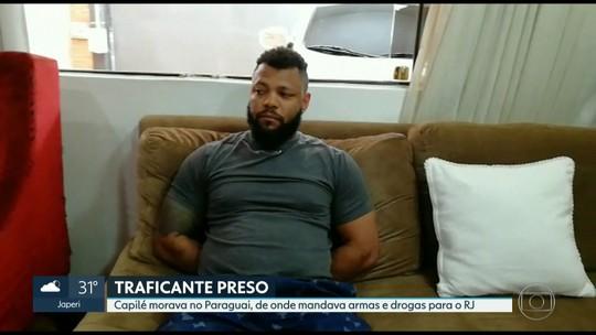 Polícia encontra mais de 100 mil dólares na casa de traficante carioca preso no Paraguai