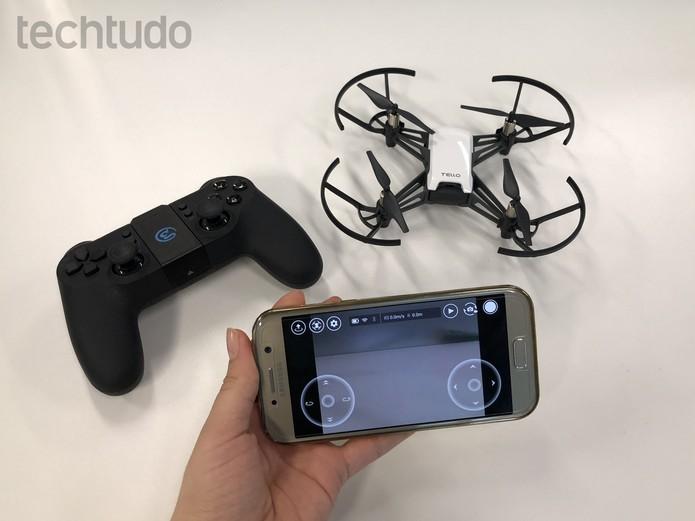 Review DJI Tello: drone se destaca pelo tamanho pequeno e preço