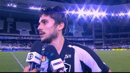 Autor de gol da vitória, Igor Rabello homenageia João Paulo e fala sobre volta por cima