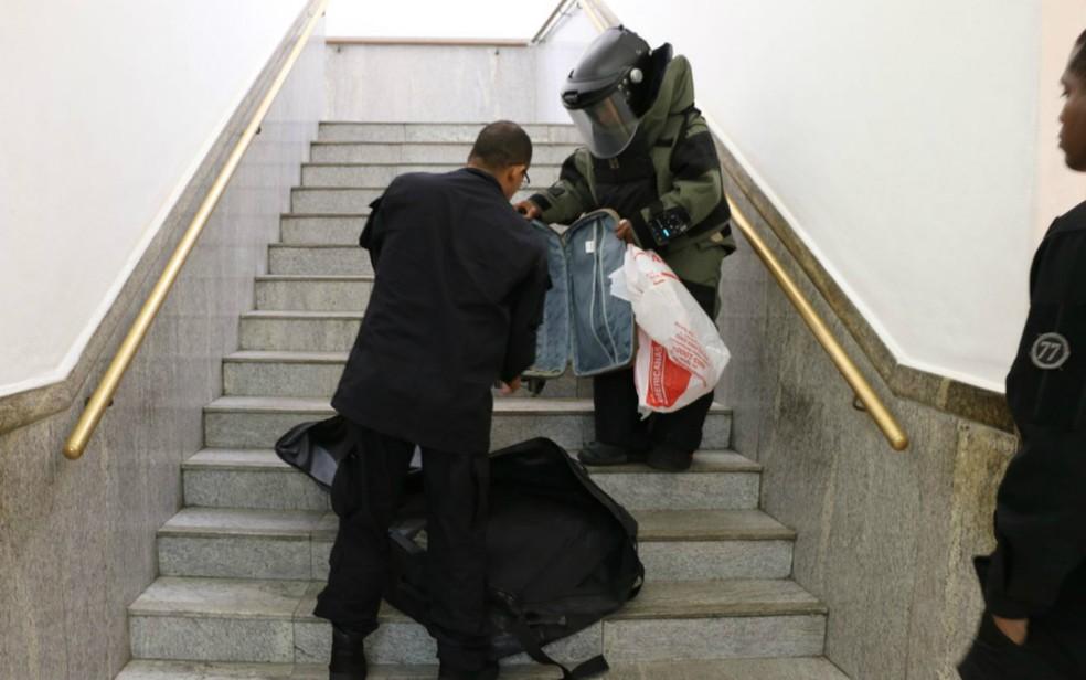 SSP disse que vai investigar trote à polícia com denúncia de bomba (Foto: Divulgação/SSP-BA)