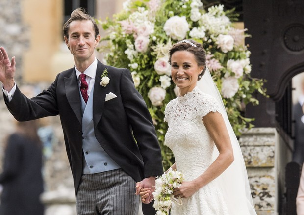 Veja detalhes do décor do casamento de Pippa Middleton (Foto: Reprodução )