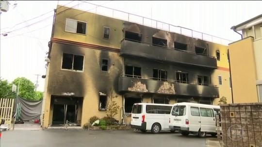 Polícia do Japão identifica autor de incêndio criminoso