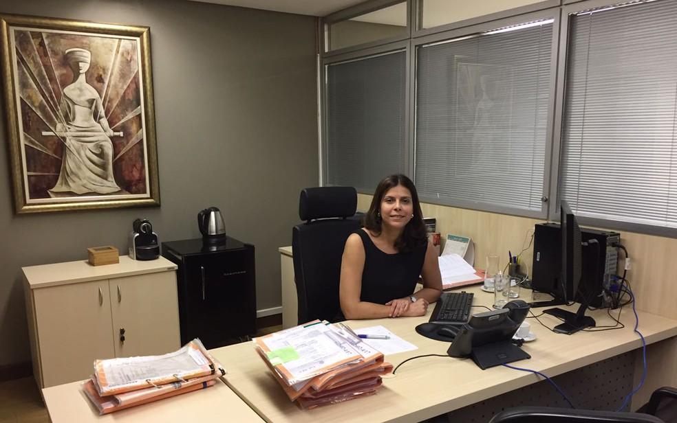 Ana Cláudia Mendes é juíza da 1ª Vara Criminal de Brasília (Foto: Arquivo pessoal)