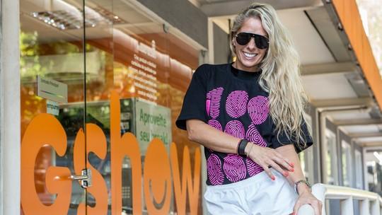 Adriane Galisteu não descarta segundo filho e comenta inspiração: 'Quando vi a Ivete gravidíssima, me deu um ânimo'