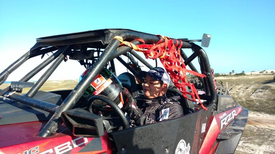 Único cadeirante a disputar o Rally dos Sertões, cearense se desafia: