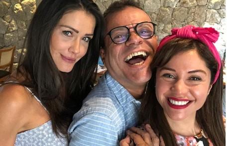 """Tatula, Daniel Rolim e Maria, do """"BBB"""" 11, aparecem juntos nas redes com frequência Reprodução"""