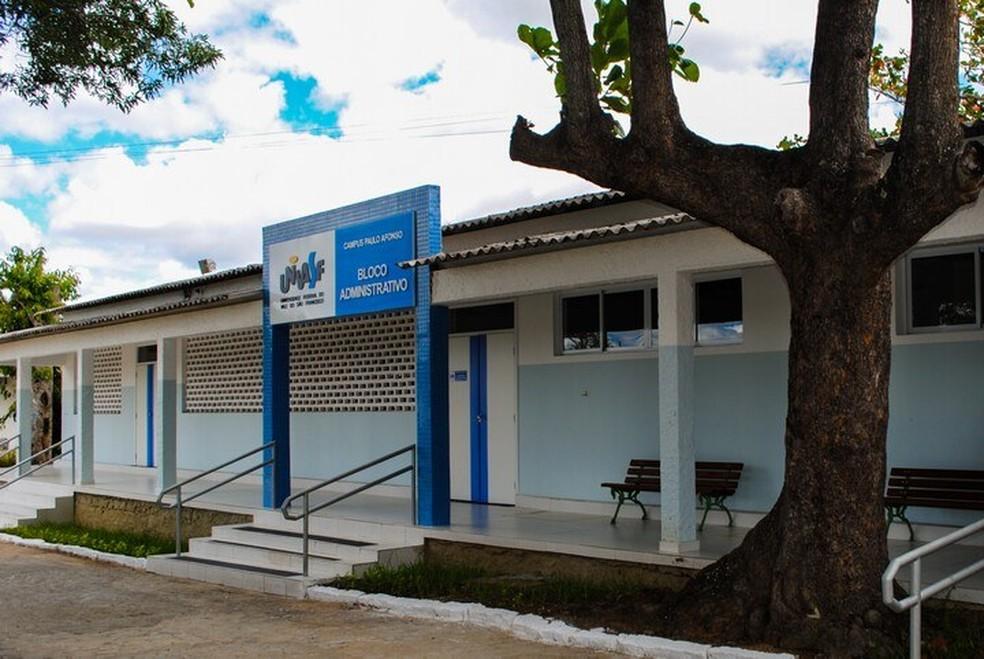 Universidade Federal do Vale do São Francisco (Univasf), em Paulo Afonso — Foto: Reprodução/Univasf
