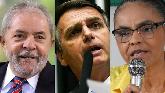 Foto: (Ricardo Stuckert/Instituto Lula, Marcelo Camargo/Agência Brasil e Adneison Severiano/G1 AM)
