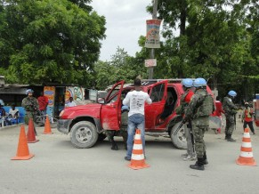 Forças armadas brasileiras no Haiti (Foto: Divulgação/Forças Armadas Brasileiras)