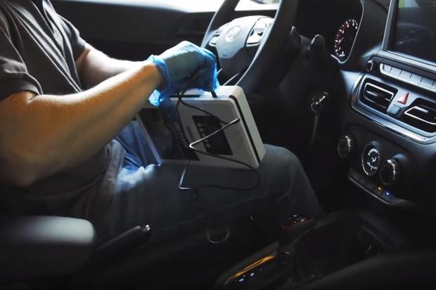 Desinfecção Hyundai Ar-condicionado Ozonio (Foto: Divulgação)