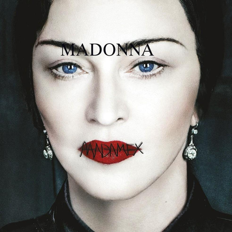 Capa de 'Madame X', de Madonna' — Foto: Divulgação