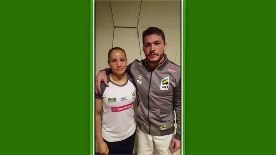 Maria Portela e Victor Penalber são ouro, e Brasil já soma sete medalhas na Geórgia