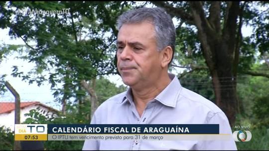 Prefeitura divulga calendário do IPTU 2020 de Araguaína; veja as datas para pagar com desconto