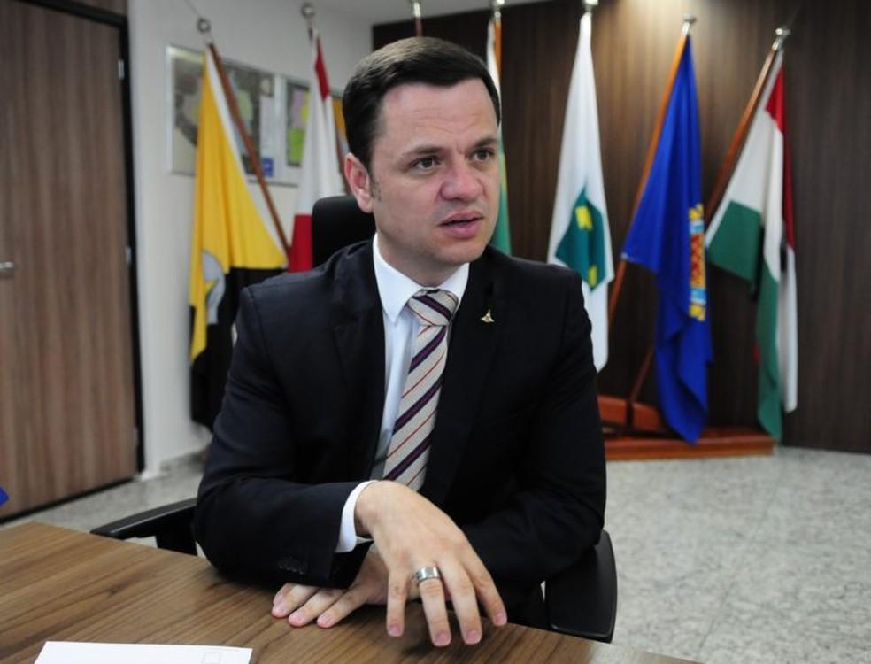 Delegado da PF Anderson Torres, novo ministro da Justiça — Foto: Lúcio Bernardo Jr / Agência Brasília