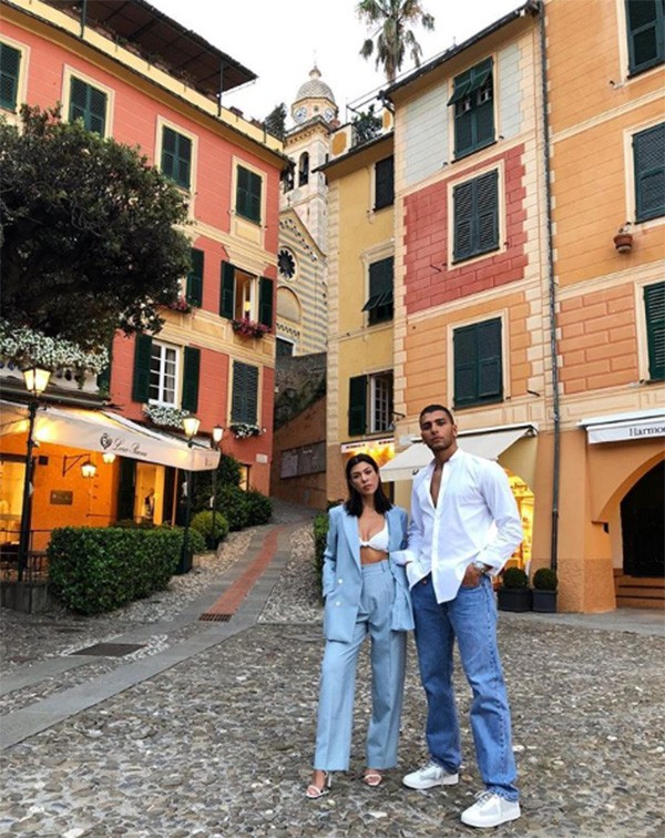 Kourtney Kardashian e Younes Bendjima (Foto: Instagram)