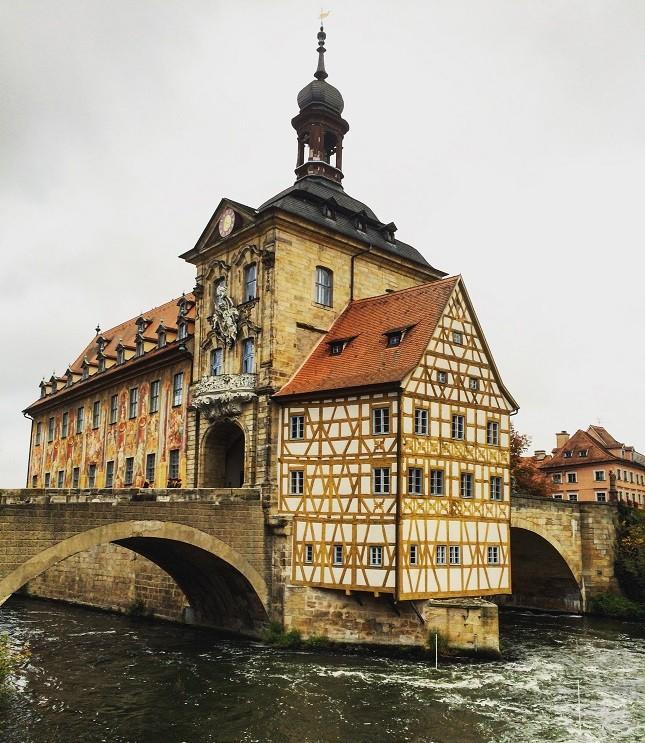 Vista da cidade de Bamberg, na Baviera