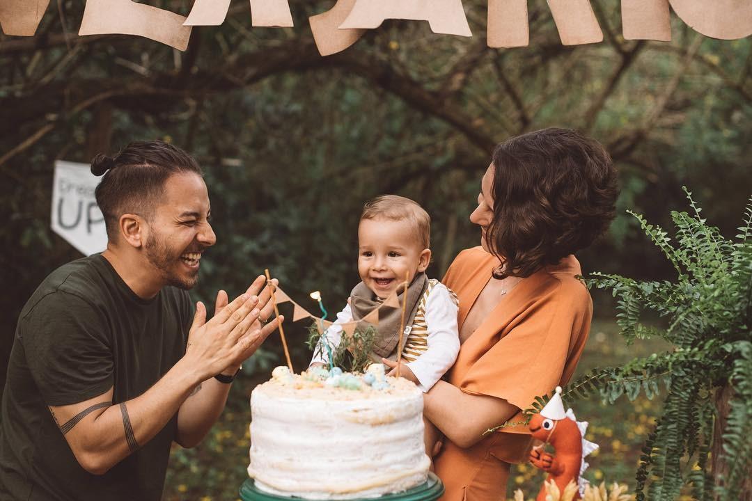 Otto, filho de Junior e Monica Benini, completou 1 ano (Foto: Reprodução/Instagram)