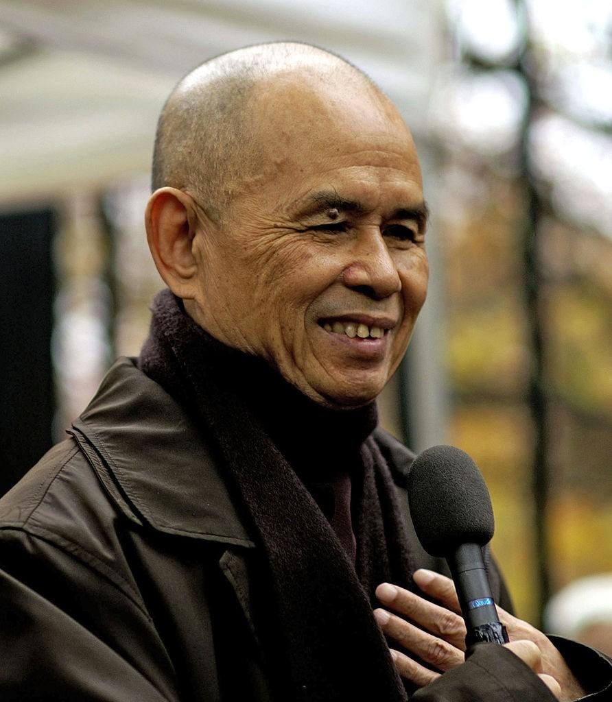 Monge budista Thich Nhat Hanh (Foto: Duc (pixiduc)/Wikimedia Commons)