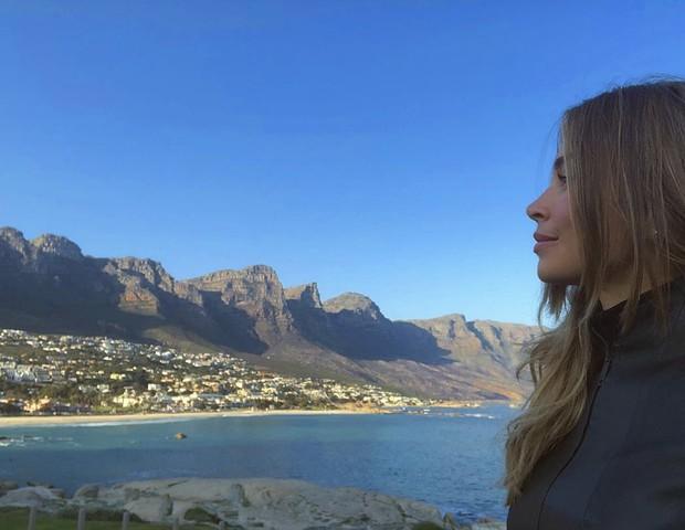Grazi faz viagem à África (Foto: Reprodução)