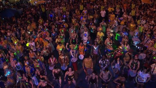Chama o Síndico reúne cerca de 60 mil foliões no centro de Belo Horizonte