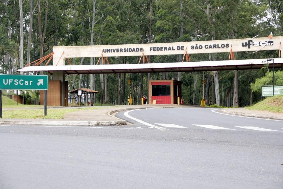 Encontros acontecem no campus de São Carlos da UFSCar (Foto: Fabio Rodrigues/G1)
