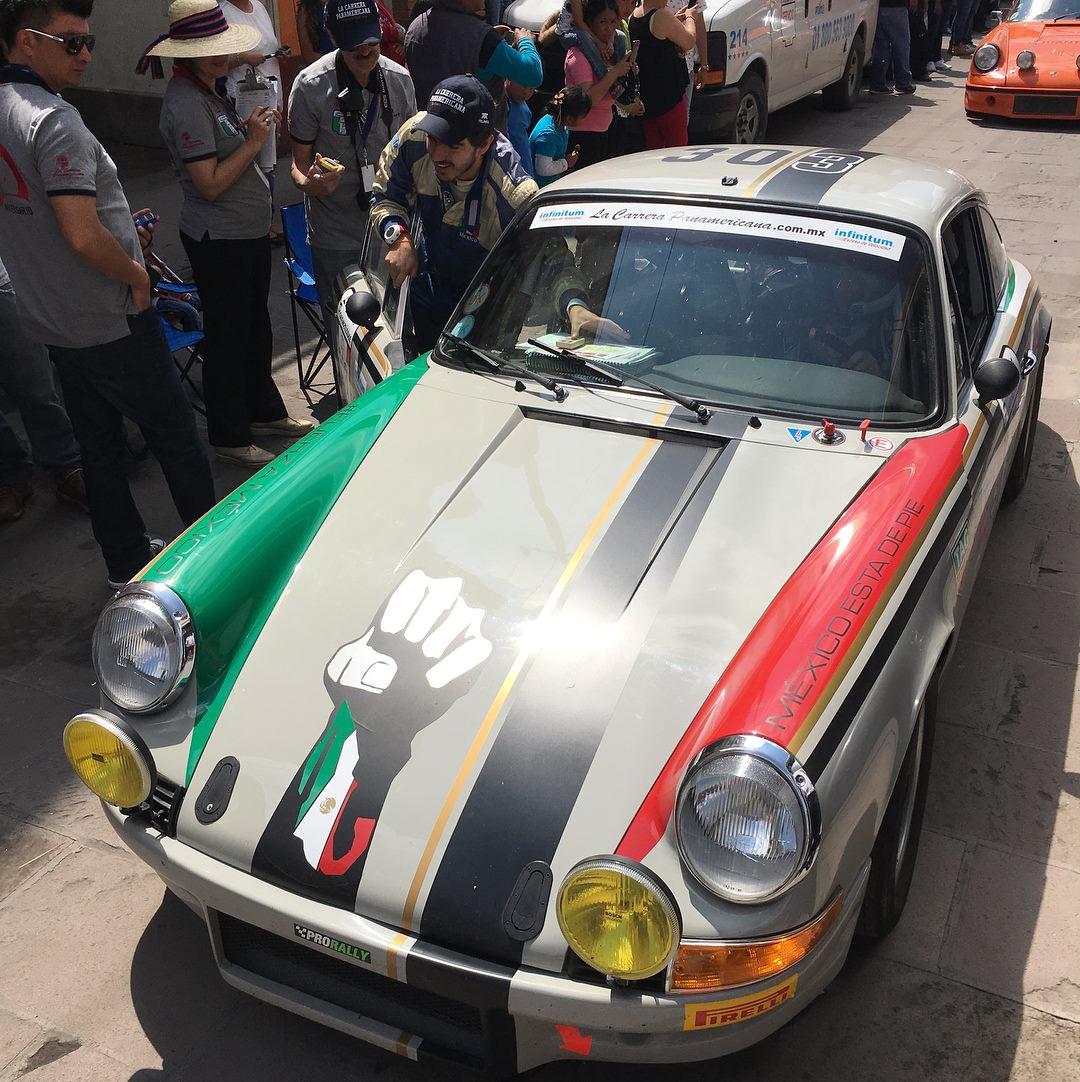 Porsche 911 #303 La Carrera Panamericana A (Foto: Divulgação/Benton Motorsport)