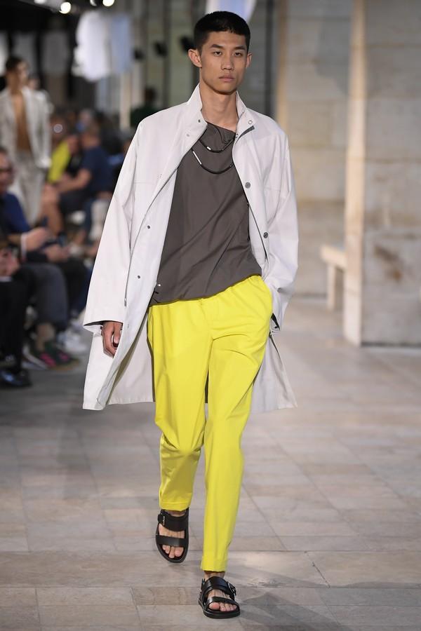 Calça Fluor da Hermès (Foto: Matthieu Lavanchy)