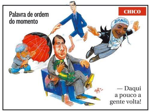 Charge (Foto: Chico Caruso)