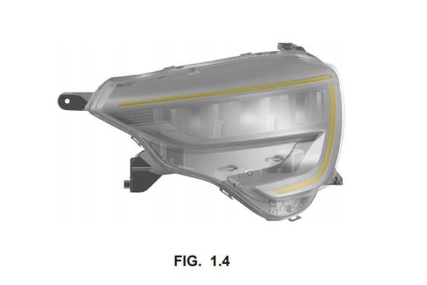 Farol para ser de LEDs como no conceito (Foto: Reprodução)