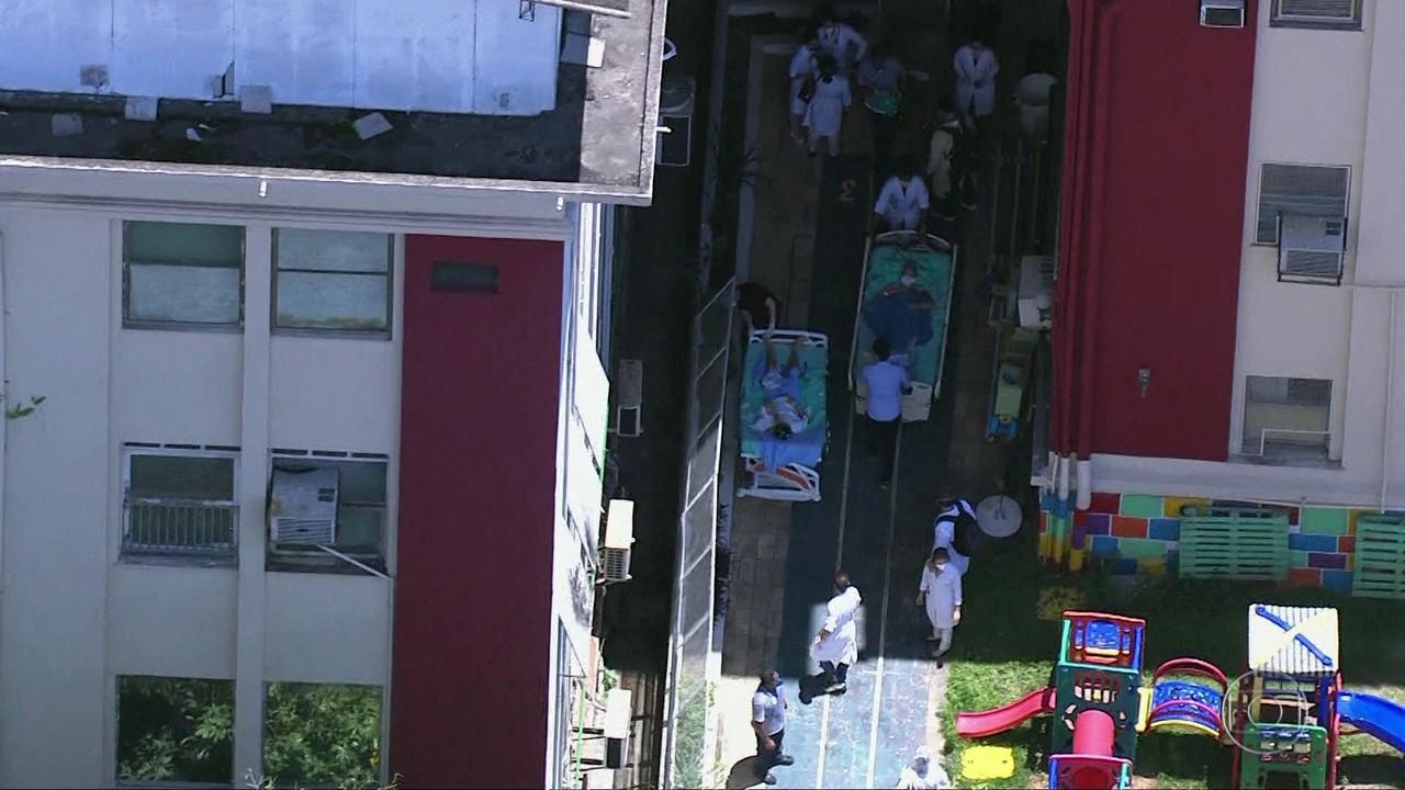 Polícia Federal investiga incêndio no Hospital Geral de Bonsucesso, no Rio