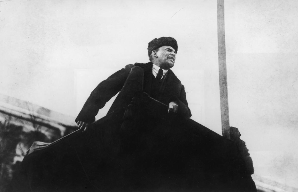Vladimir Lenin, líder da Revolução Bolchevique (Foto: Reprodução)