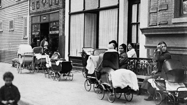 Clínica Sanger em Nova York acabaria se tornando a sede da American Birth Control League, que Sanger fundou e se converteu na Federação de Planejamento Familiar dos Estados Unidos (Foto: Getty Images via BBC News Brasil)