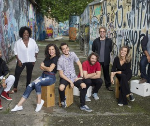 Equipe de 'Ninguém tá olhando' | Aline Arruda / Netflix