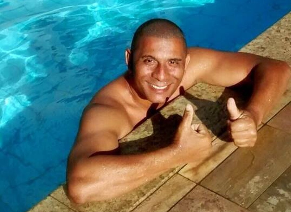 Rogério Costa foi preso em flagrante pela morte da ex-noiva, Gabriela Silva de Jesus (Foto: Reprodução/Facebook)