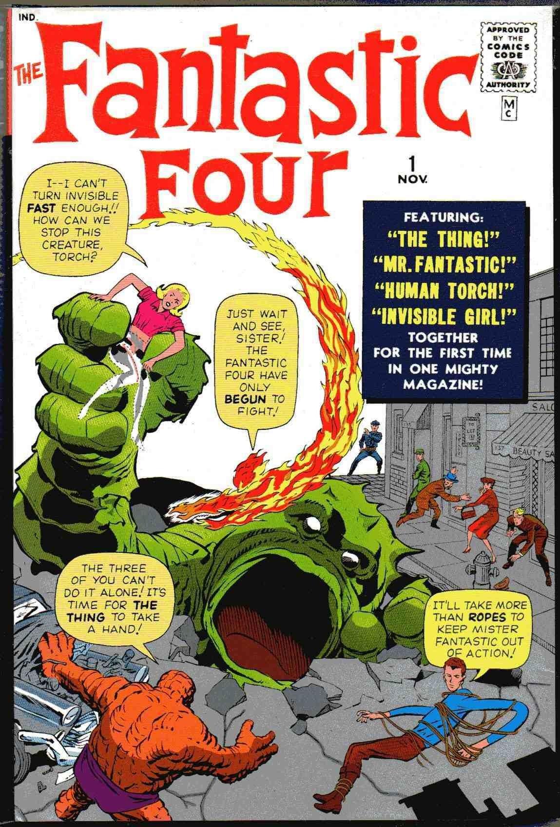 A primeira edição de Quarteto Fantástico mudou a forma de criação das histórias da Marvel (Foto: Divulgação)