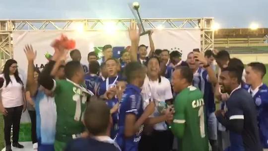 CSA empata com o CRB na final e conquista o Alagoano Sub-17