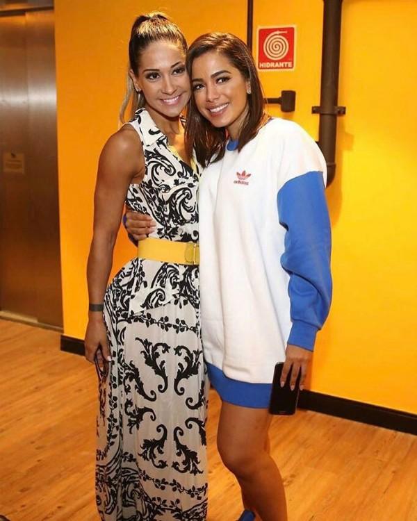Mayra Cardi e Anitta viveram juntas por 30 dias  (Foto: Reprodução / Instagram)