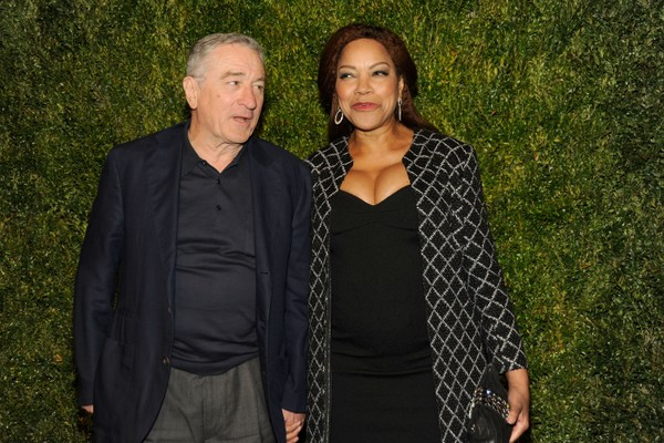 O ator Robert De Niro e a empresária Grace Hightower (Foto: Getty Images)