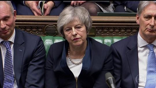 Parlamento britânico rejeita o acordo do Brexit