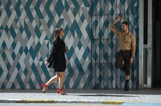 João Vicente de Castro e Alessandra Negrini no filme 'Mulheres alteradas' (Foto: Ariela Bueno)