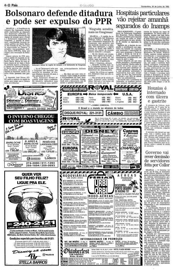 Página de 24 de junho de 1993