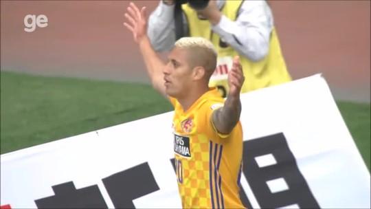 Crislan é apresentado por clube japonês e embala segundo ano seguido na J-League