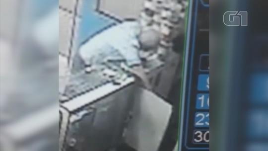 Polícia prende agente penitenciário suspeito de assalto a posto; vídeo
