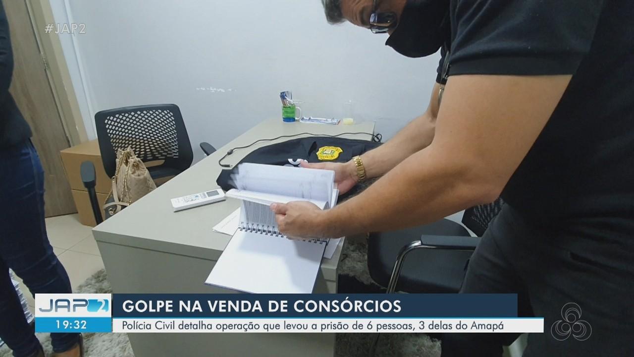 Polícia Civil detalha operação que levou à prisão de 6 pessoas no Amapá e Rio de Janeiro