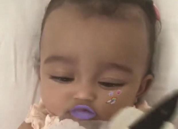 Kim se derrete pela filha Chicago  (Foto: Reprodução/Instagram)